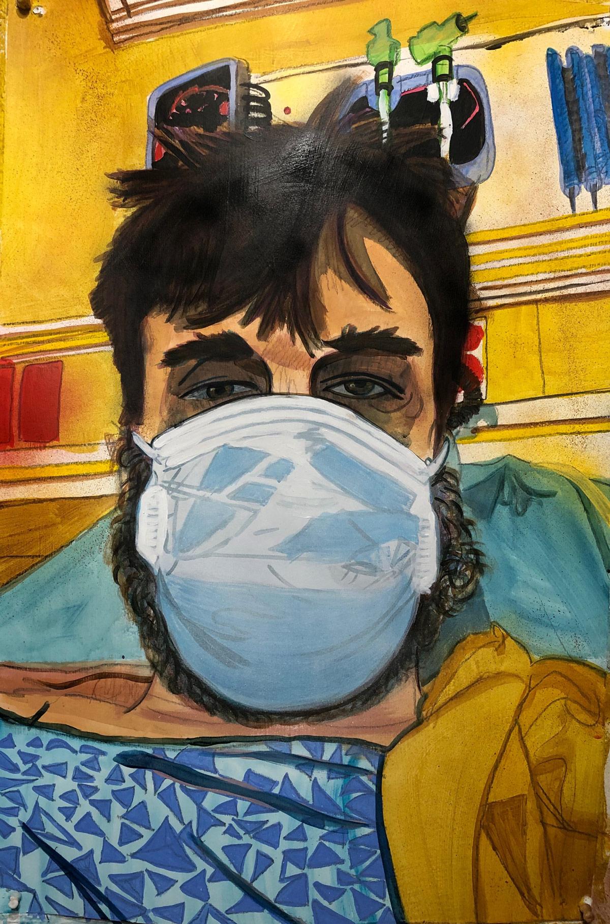 Tristan Duke, artist Los Angeles CA, 2020