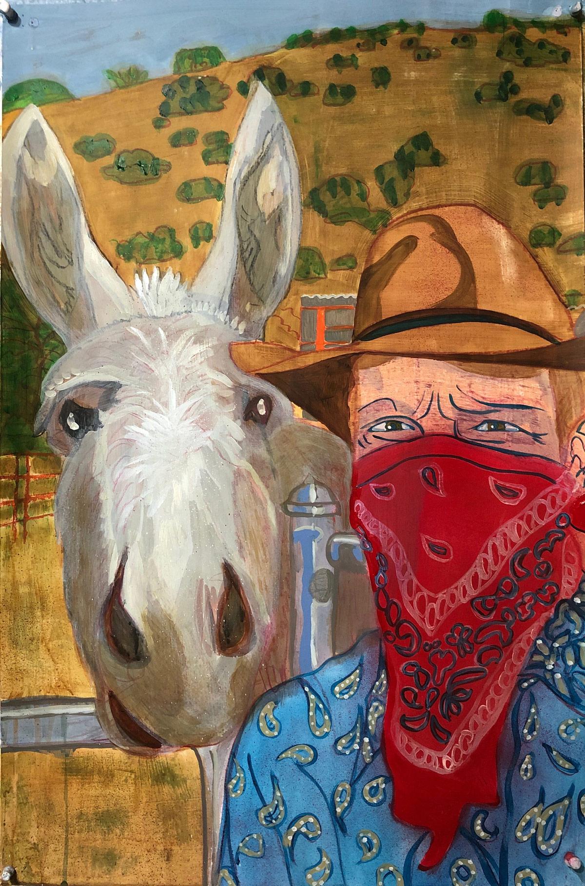 Mike Randal, Mule wrangler, environmentalist, 2020