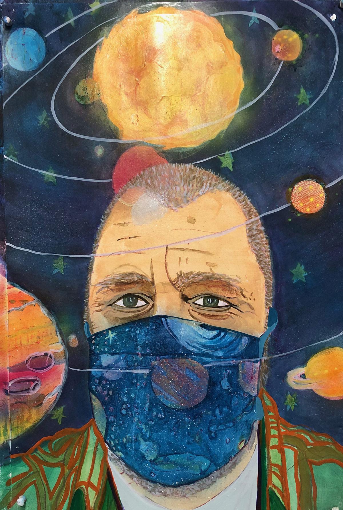 Robert Gunderman, artist Los Angeles, 2020
