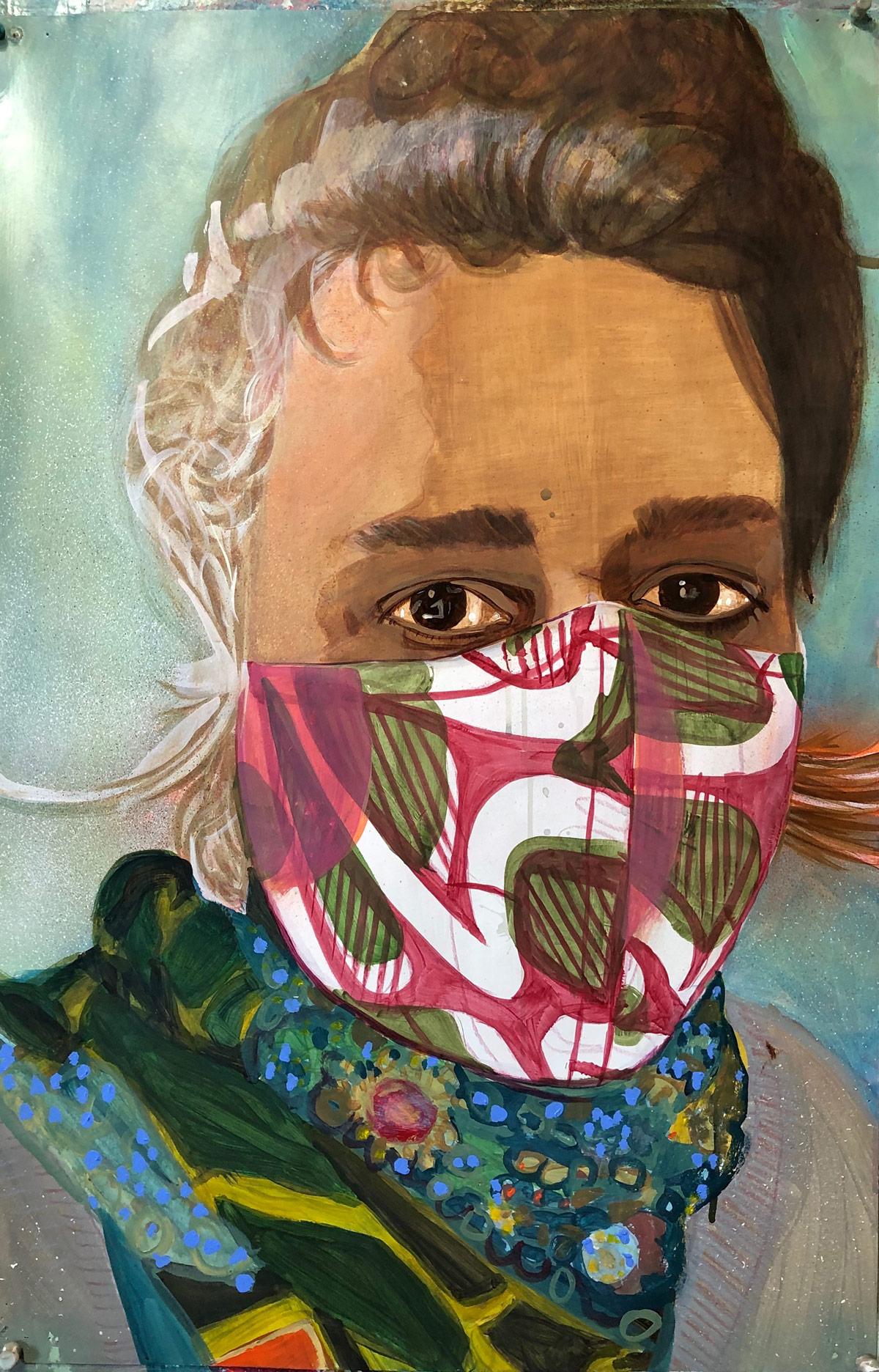 Kim Faler (artist), North Adams, MA, 2020