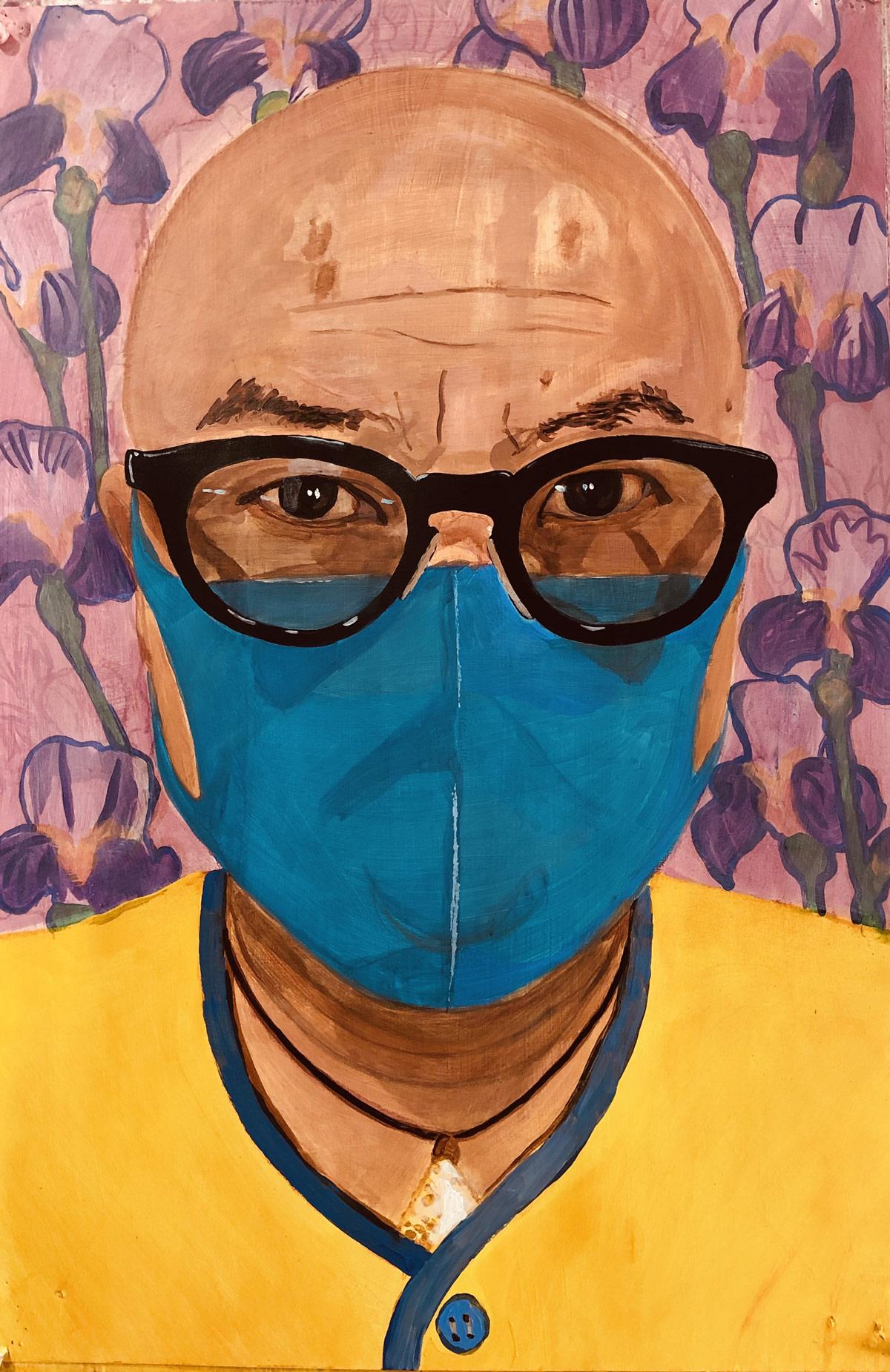 Phong H. Bui, writer/artist Brooklyn Rail. NYC, 2020