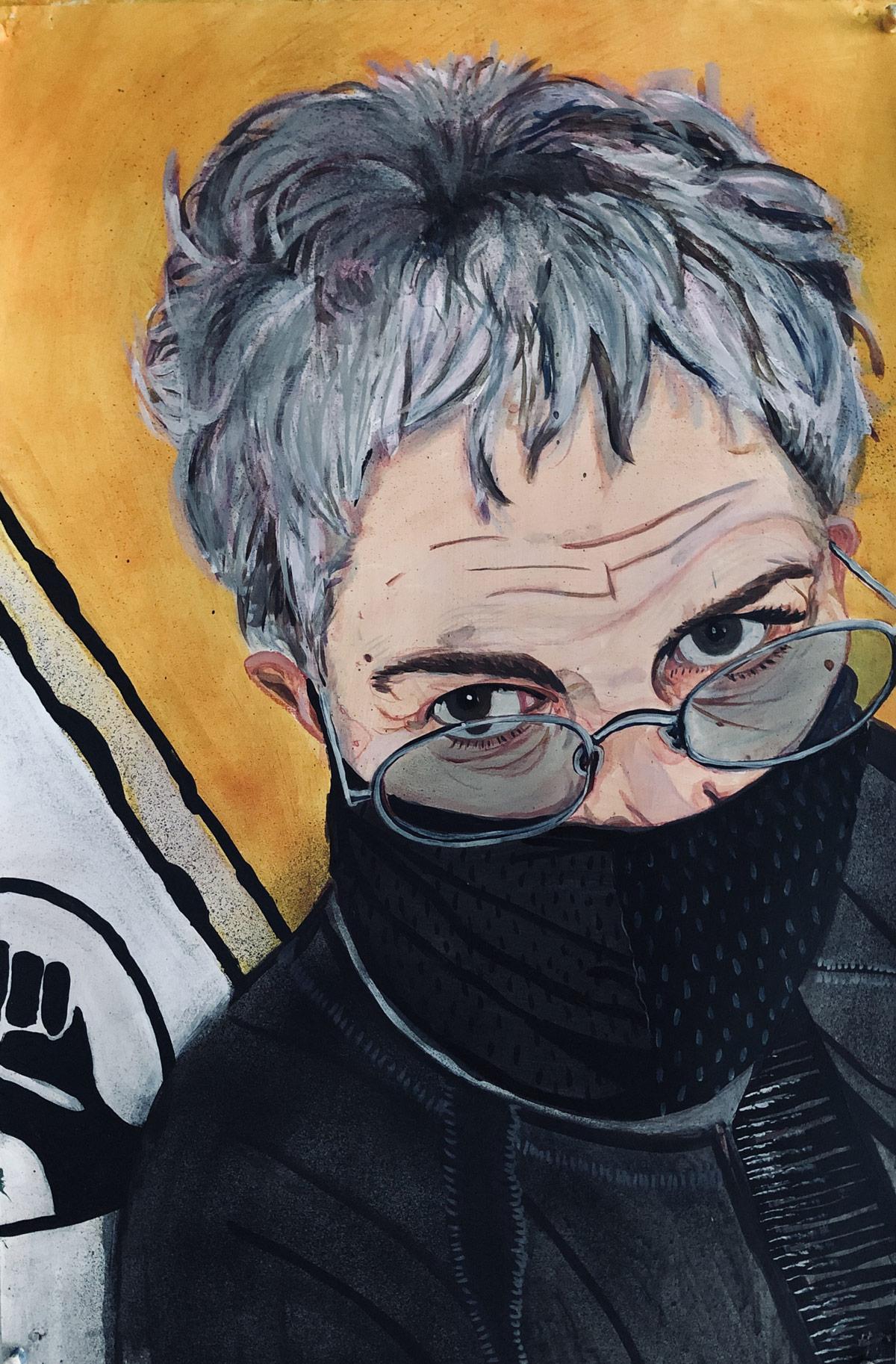 Margrette Werthiem, mathematician/artist Los Angeles/Australia, 2020