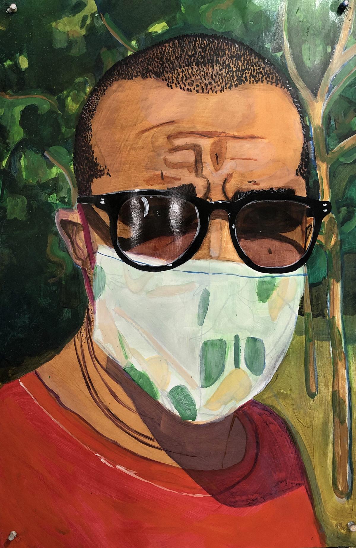 Shaun-Leonardo-artist-educator-New-York-NY-2020-acylic-on-paper-mounted-to-canvas-23.5-x-38