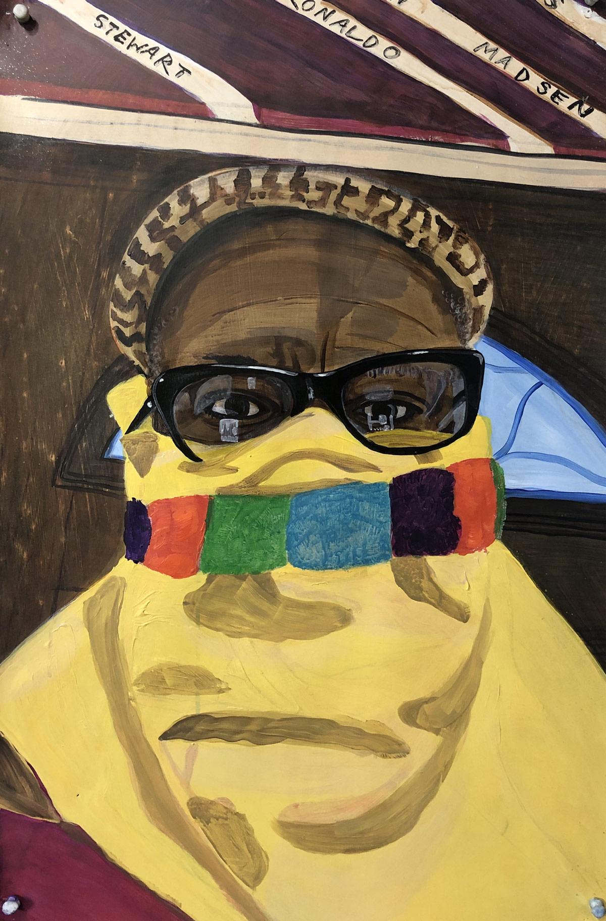 Trenton-Doyle-Hancock-artist-Houston-TX-2020-acylic-on-paper-mounted-to-canvas-23.5-x-38