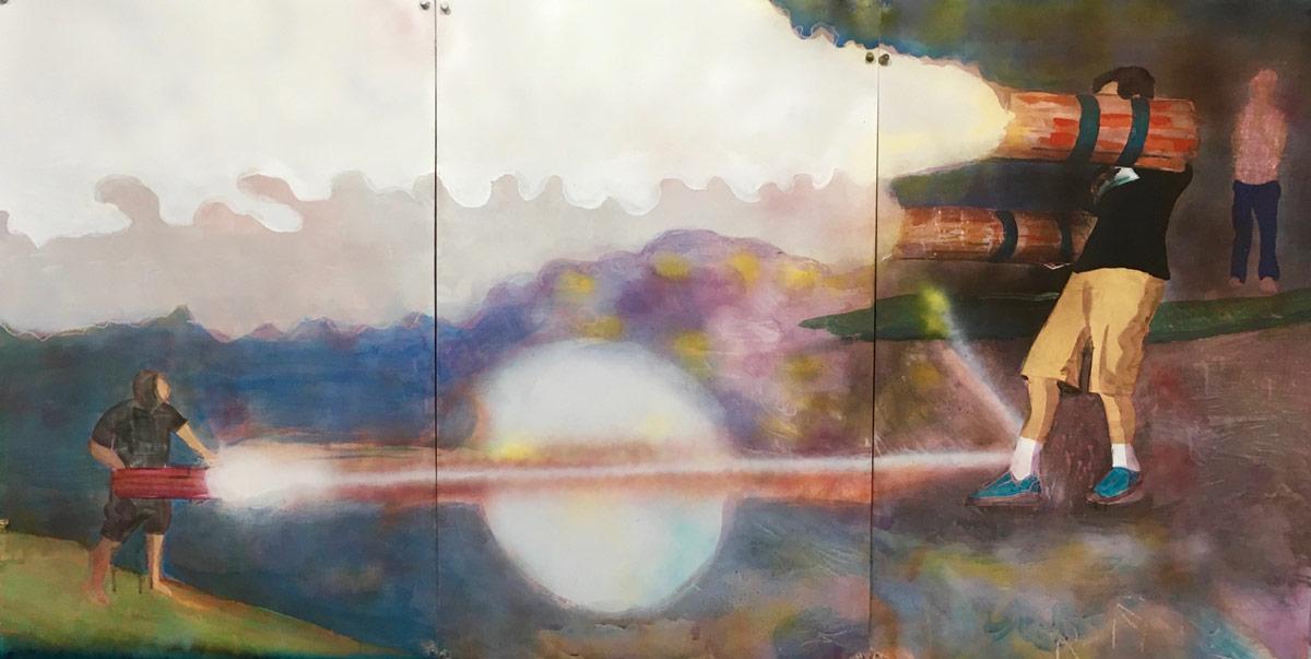 american-pyros-2-2016-acrylic-on-paper-70.5-x-38