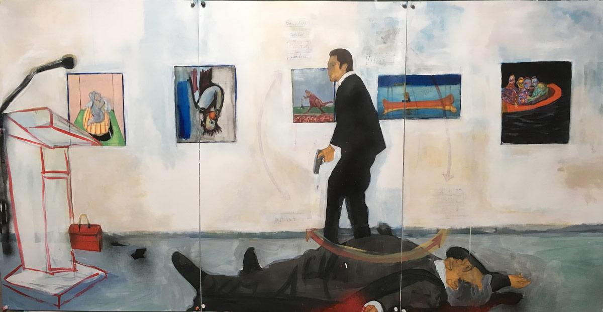 global art economy, 2017